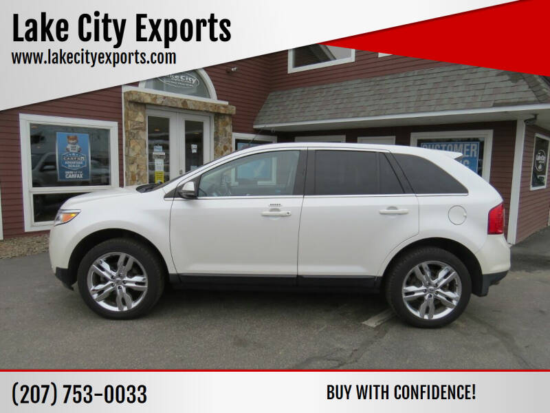 2013 Ford Edge for sale at Lake City Exports in Auburn ME