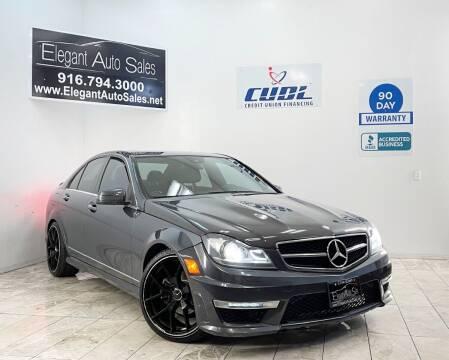 2013 Mercedes-Benz C-Class for sale at Elegant Auto Sales in Rancho Cordova CA