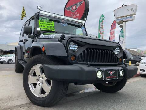 2008 Jeep Wrangler Unlimited for sale at Auto Express in Chula Vista CA
