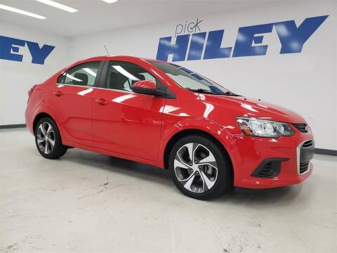 2018 Chevrolet Sonic for sale at HILEY MAZDA VOLKSWAGEN of ARLINGTON in Arlington TX