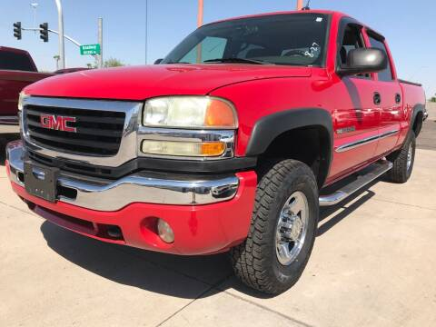 2004 GMC Sierra 2500HD for sale at Town and Country Motors in Mesa AZ