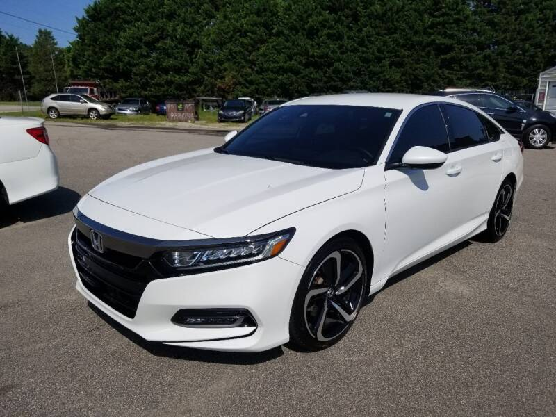 2019 Honda Accord for sale at Pinnacle Acceptance Corp. in Franklinton NC