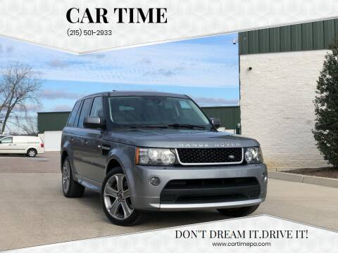 2012 Land Rover Range Rover Sport for sale at Car Time in Philadelphia PA