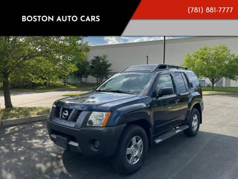 2008 Nissan Xterra for sale at Boston Auto Cars in Dedham MA