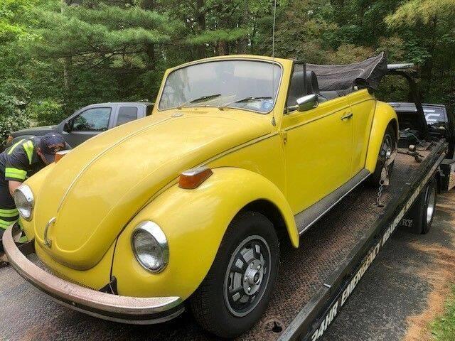 1971 Volkswagen Super Beetle for sale in Cadillac, MI