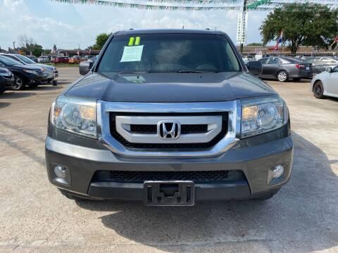 2011 Honda Pilot for sale at SOUTHWAY MOTORS in Houston TX