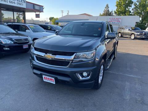 2016 Chevrolet Colorado for sale at Adams Auto Sales in Sacramento CA