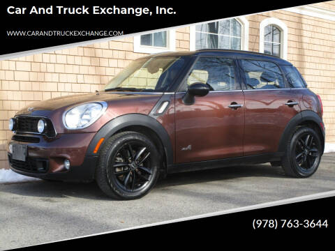 2013 MINI Countryman for sale at Car and Truck Exchange, Inc. in Rowley MA