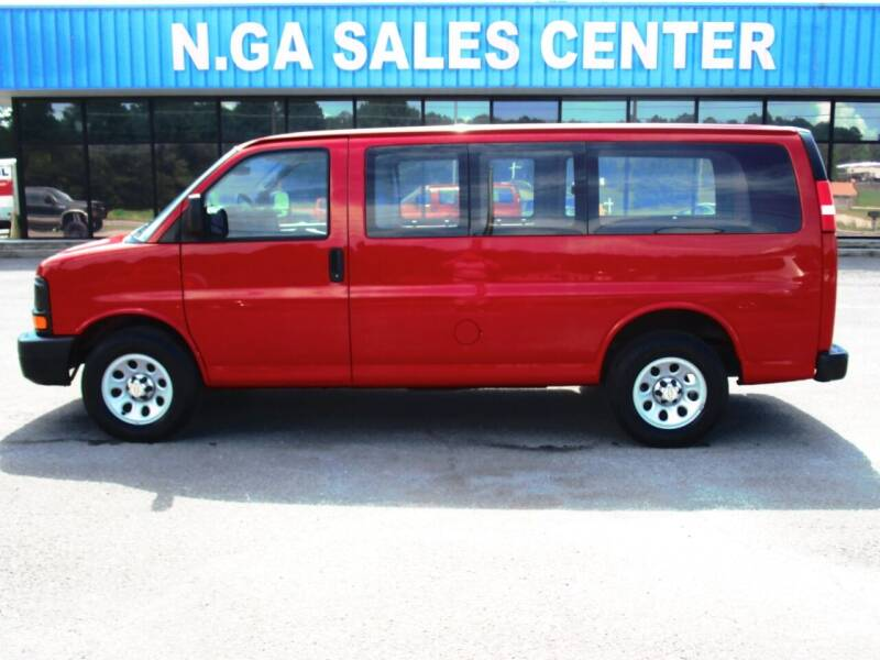 2013 Chevrolet Express Cargo for sale at NORTH GEORGIA Sales Center in La Fayette GA