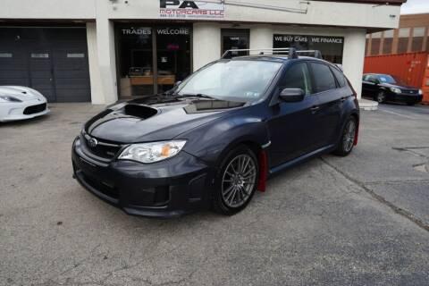 2013 Subaru Impreza for sale at PA Motorcars in Conshohocken PA