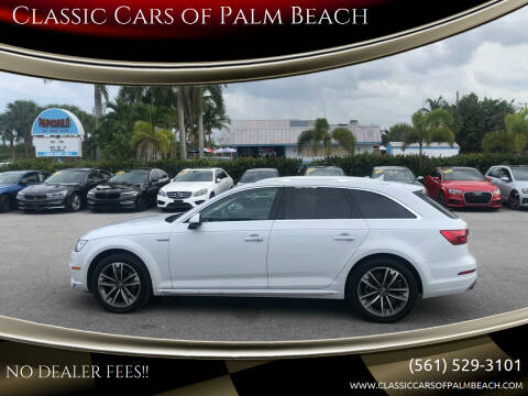 2017 Audi A4 allroad for sale at Classic Cars of Palm Beach in Jupiter FL