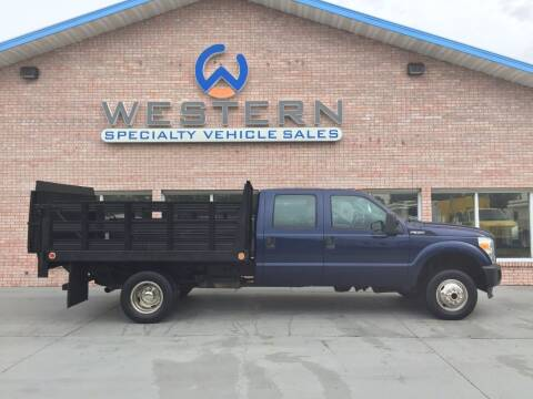 2011 Ford F350 Stakebed Truck for sale at Western Specialty Vehicle Sales in Braidwood IL