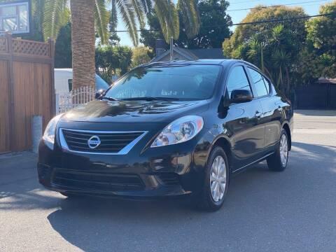 2012 Nissan Versa for sale at ZaZa Motors in San Leandro CA