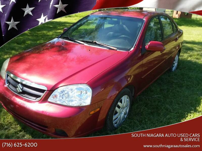 2006 Suzuki Forenza for sale at South Niagara Auto Used Cars & Service in Lockport NY