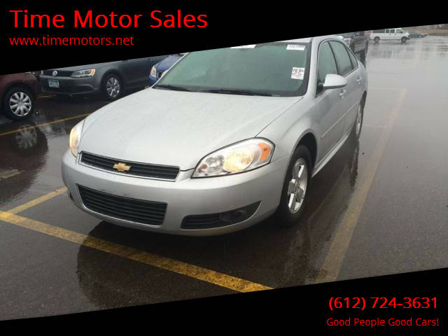 2011 Chevrolet Impala for sale at Time Motor Sales in Minneapolis MN