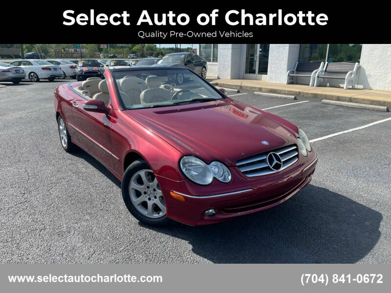 2004 Mercedes-Benz CLK for sale at Select Auto of Charlotte in Matthews NC