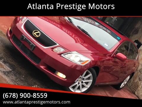 2007 Lexus GS 350 for sale at Atlanta Prestige Motors in Decatur GA