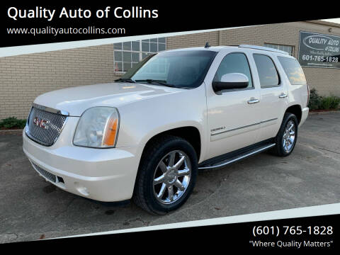 2012 GMC Yukon for sale at Quality Auto of Collins in Collins MS