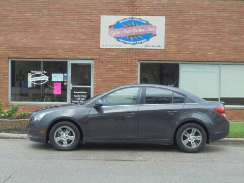 2013 Chevrolet Cruze for sale at Eyler Auto Center Inc. in Rushville IL