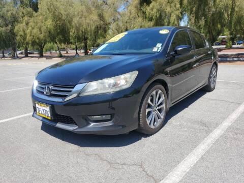 2014 Honda Accord for sale at ALL CREDIT AUTO SALES in San Jose CA
