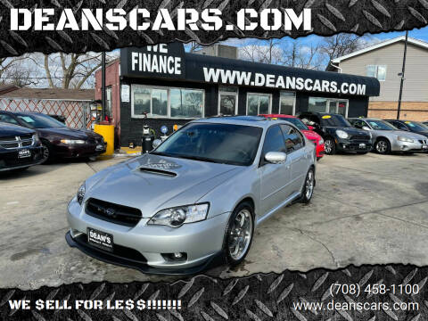 2006 Subaru Legacy for sale at DEANSCARS.COM in Bridgeview IL