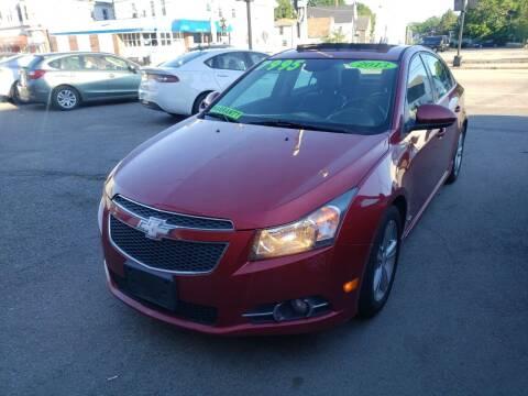2013 Chevrolet Cruze for sale at TC Auto Repair and Sales Inc in Abington MA