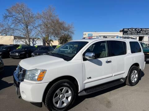 2005 Nissan Armada for sale at Black Diamond Auto Sales Inc. in Rancho Cordova CA