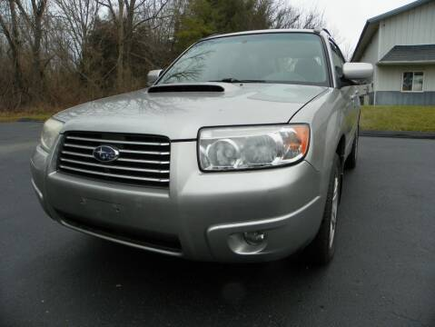 2007 Subaru Forester for sale at Ed Davis LTD in Poughquag NY