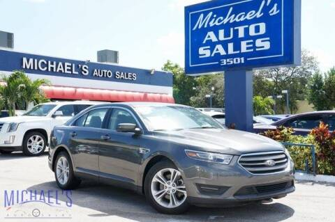 2018 Ford Taurus for sale at Michael's Auto Sales Corp in Hollywood FL