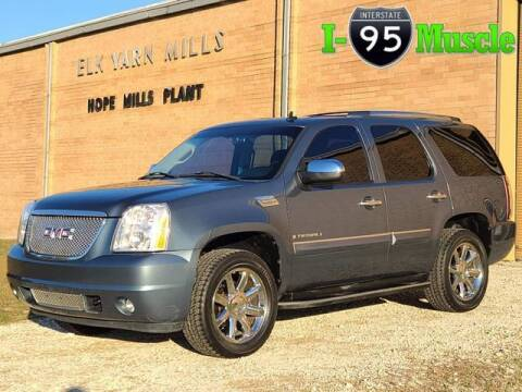 2007 GMC Yukon for sale at I-95 Muscle in Hope Mills NC