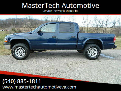 2002 Dodge Dakota for sale at MasterTech Automotive in Staunton VA
