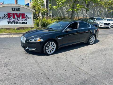 2014 Jaguar XF for sale at Five Brothers Auto Sales in Roswell GA