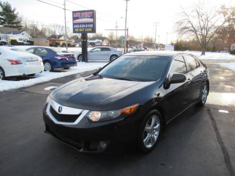 2010 Acura TSX for sale at Lake County Auto Sales in Painesville OH