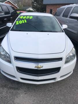 2011 Chevrolet Malibu for sale at Monroe Auto Sales Inc in Wilmington NC