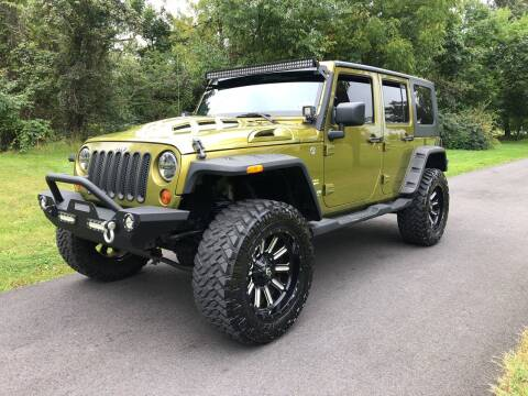 2008 Jeep Wrangler Unlimited for sale at ARS Affordable Auto in Norristown PA