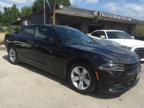 2018 Dodge Charger for sale at Texas Luxury Auto in Houston TX