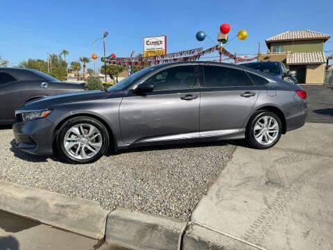2019 Honda Accord for sale at CURIEL'S AUTO SALES LLC in Yuma AZ