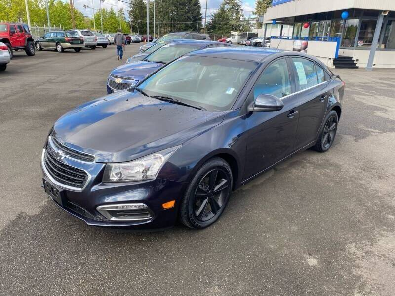 2015 Chevrolet Cruze for sale at TacomaAutoLoans.com in Lakewood WA