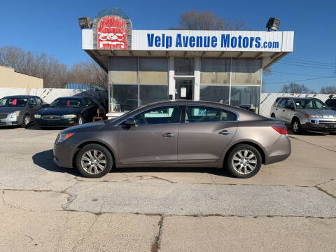 2010 Buick LaCrosse for sale at Velp Avenue Motors LLC in Green Bay WI