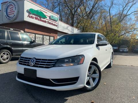 2013 Volkswagen Passat for sale at GMA Automotive Wholesale in Toledo OH