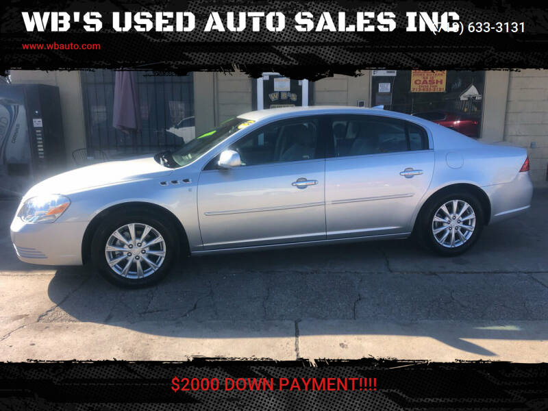 2009 Buick Lucerne for sale at WB'S USED AUTO SALES INC in Houston TX