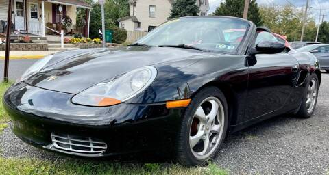 2001 Porsche Boxster for sale at Mayer Motors of Pennsburg in Pennsburg PA