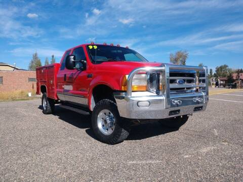 1999 Ford F-350 Super Duty for sale at HIGH COUNTRY MOTORS in Granby CO