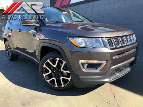 2018 Jeep Compass for sale at Auto Republic Fullerton in Fullerton CA