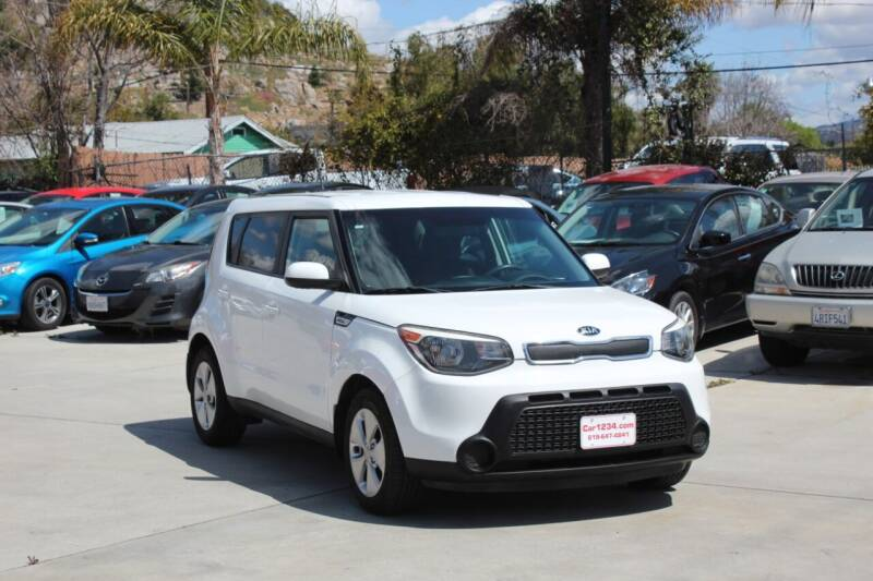 2016 Kia Soul for sale at Car 1234 inc in El Cajon CA