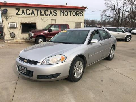 2007 Chevrolet Impala for sale at Zacatecas Motors Corp in Des Moines IA