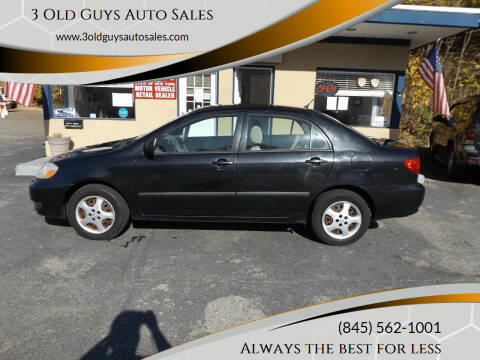 2006 Toyota Corolla for sale at 3 Old Guys Auto Sales in Newburgh NY