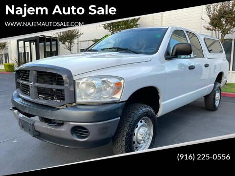 2009 Dodge Ram Pickup 2500 for sale at Najem Auto Sale in Sacramento CA