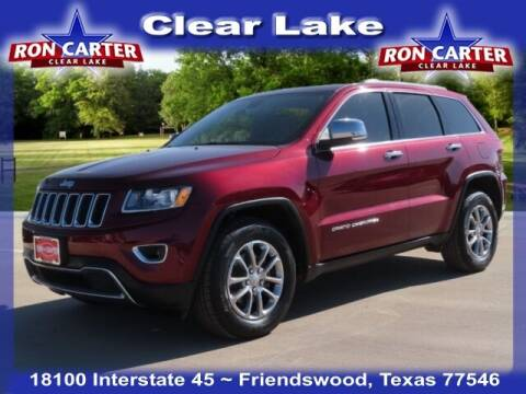 2016 Jeep Grand Cherokee for sale at Ron Carter  Clear Lake Used Cars in Houston TX