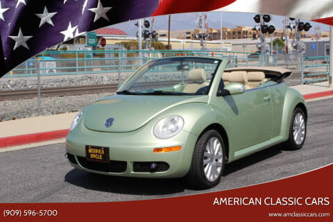 2008 Volkswagen New Beetle Convertible for sale at American Classic Cars in La Verne CA